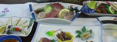 食事会・魚料理