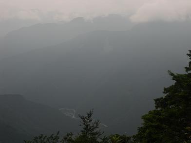 大峰山系とR169