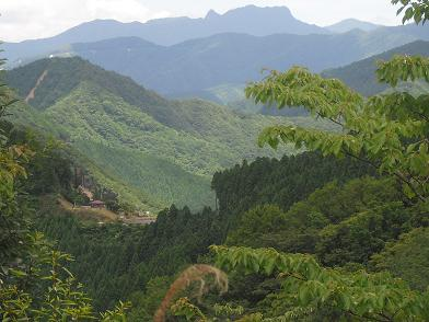 稲村ケ岳遠望