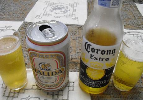メキシコとベトナムのビール