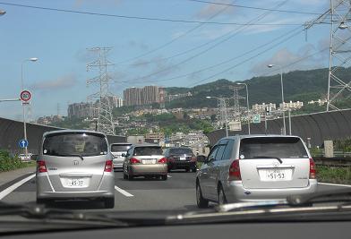 中国自動車道・宝塚