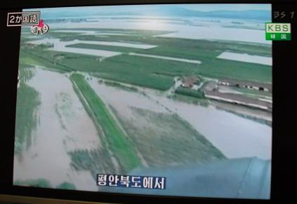 NHK-BS1テレビ報道より(北朝鮮)