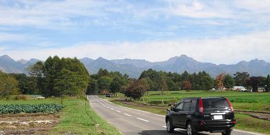 1 茅野市・八ケ岳へ向かう