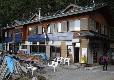 7 夏沢鉱泉へ到着