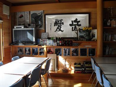 8 夏沢鉱泉の食堂1
