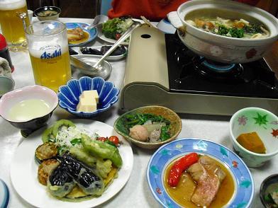 12 夕食1