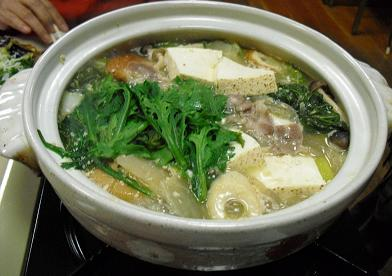 13 夕食・鍋料理