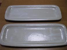 8 信楽焼きのお皿