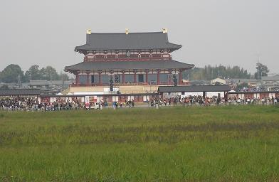 8 朱雀門から大極殿2
