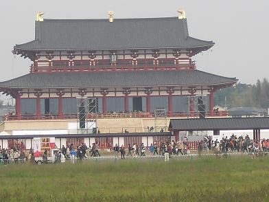 9 朱雀門から大極殿3