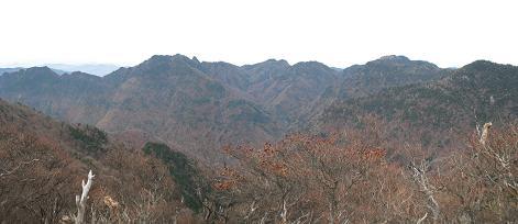 7 山上ケ岳・稲村ケ岳