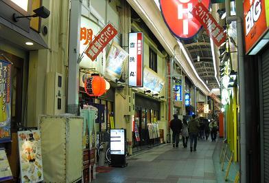 3 京橋駅前の飲み屋街