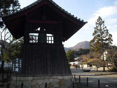 5 日本最古の梵鐘