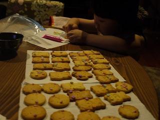 クッキー仕上げ