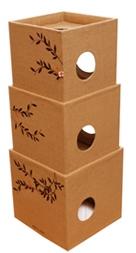 キャットタワー3BOXヘンプ