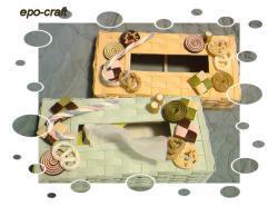 お菓子ティッシュボックス1