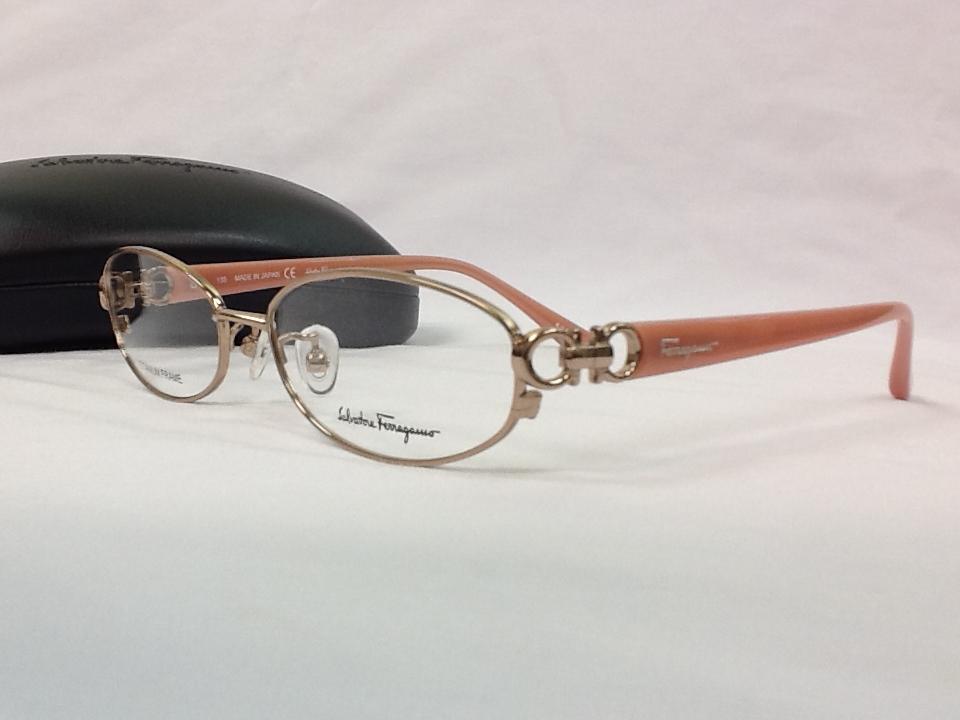 サルヴァトーレフェラガモ 品番:SF2501J フレームカラー:SHINY ROSE レンズサイズ:53ミリ
