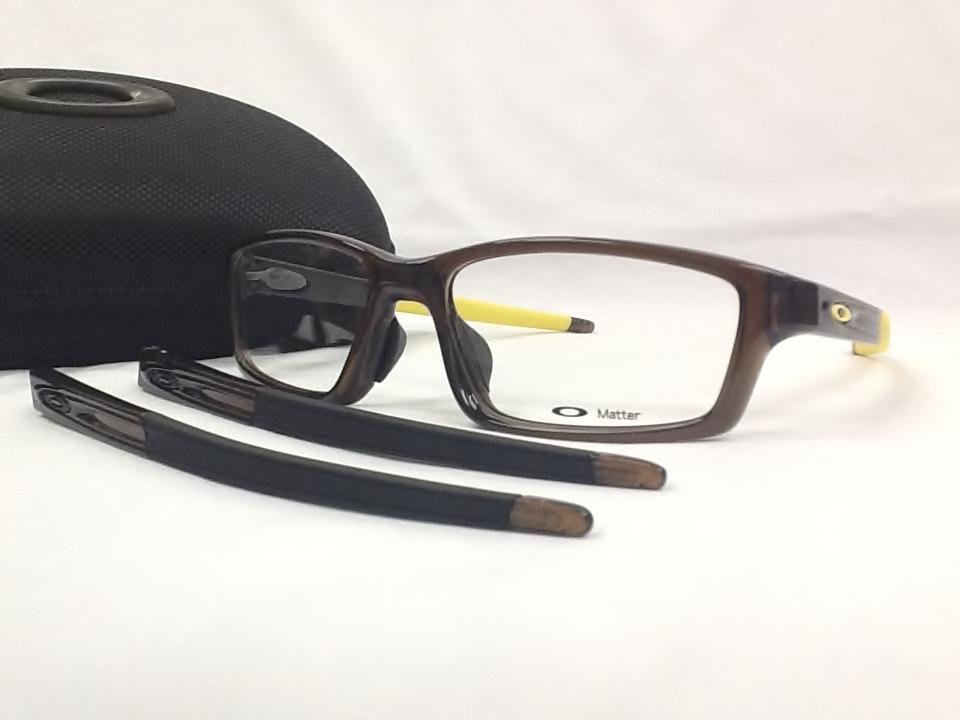 オークリー CROSSLINK PITCH(クロスリンクピッチ) 品番:OX8041-0356 カラー:バーク サイズ:56ミリ