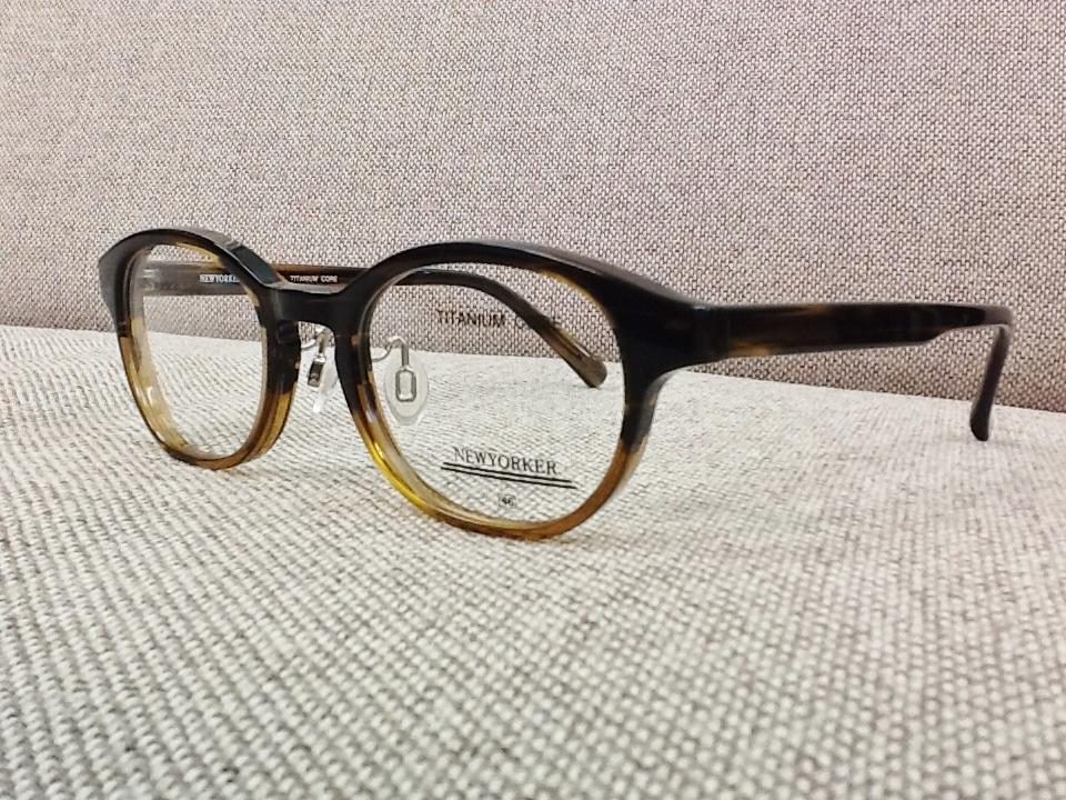 ニューヨーカー 品番:NY-6227 フレームカラー:BC3 レンズサイズ:47ミリ