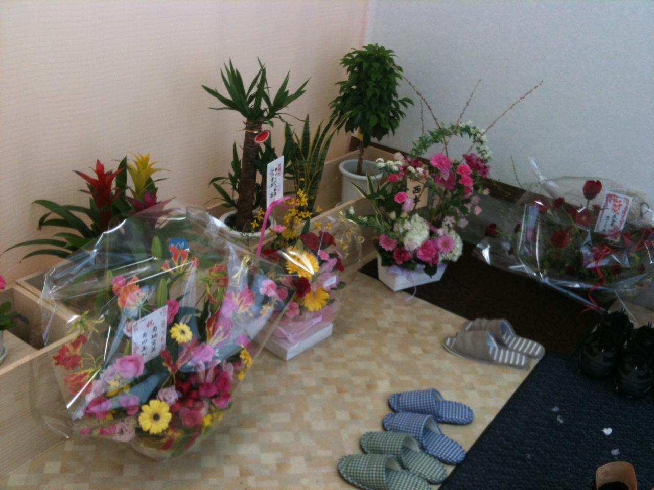 開院祝い 花「