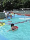 戸山のジャブジャブ池
