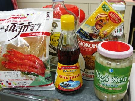 鈴木珠美さんのベトナム料理_材料