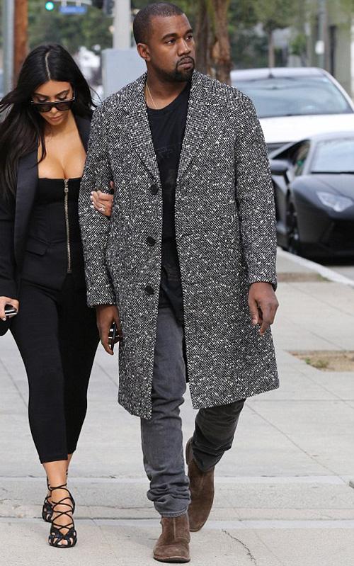 カニエ・ウェスト(Kanye West):サンローラン(Saint Laurent)