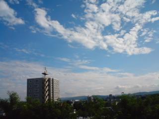 札幌の青空1