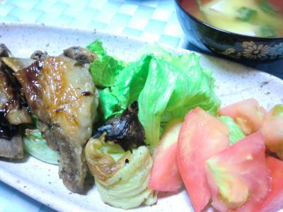 野菜たっぷり定食