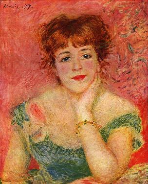 ルノワール ジャンヌ・サマリー嬢