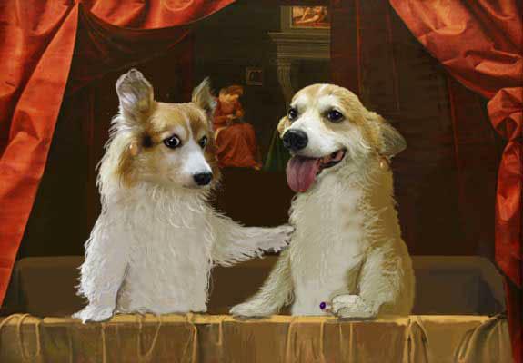 フォンテーヌブロー派 浴槽のピノホリ姉妹