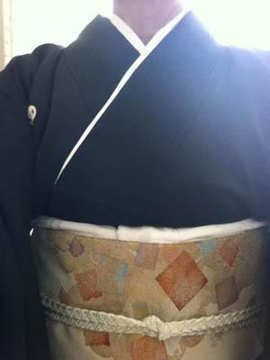baba留め袖と帯