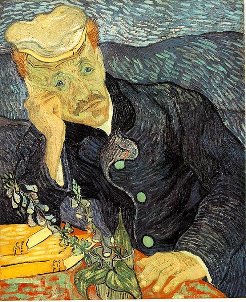 『医師ガシェの肖像(第1バージョン)』