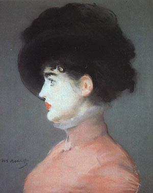 【美しきウィーンの女性】エドワール・マネ