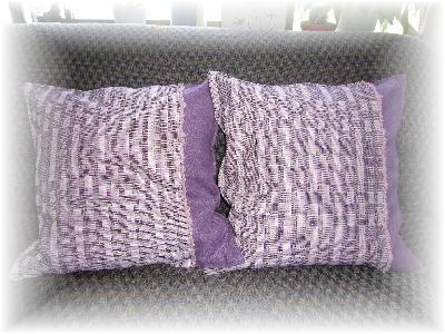 紫クッション1