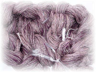 紫ストール整経1