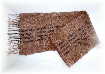 裂き織りマフラー19-3