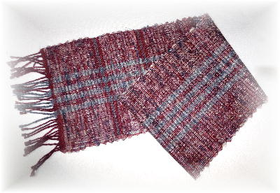 裂き織りマフラー20-1