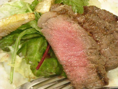 牛ランプ肉炭火焼