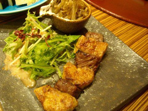 サーロインの西京焼