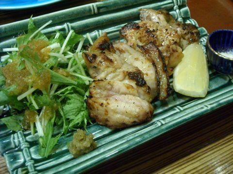 鶏のゆず醤油焼き