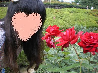 2011.5.31バラ園でぇとw 3