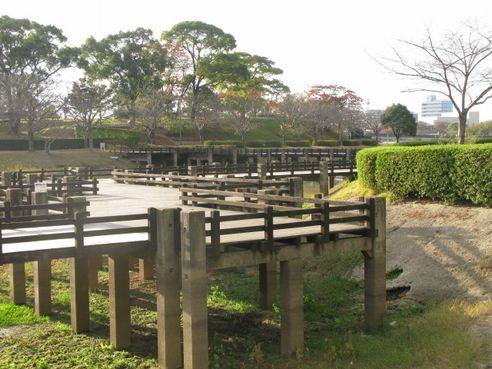 菖蒲園の橋