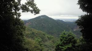 尾張富士からみた尾張本宮山