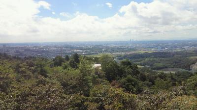 信貴山山頂からの眺望