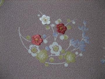日本刺繍 花丸にあしらい10