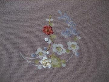 日本刺繍 花丸にあしらい11