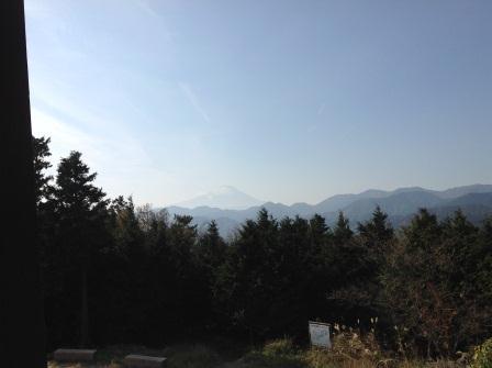 ④131124菜の花台から富士山