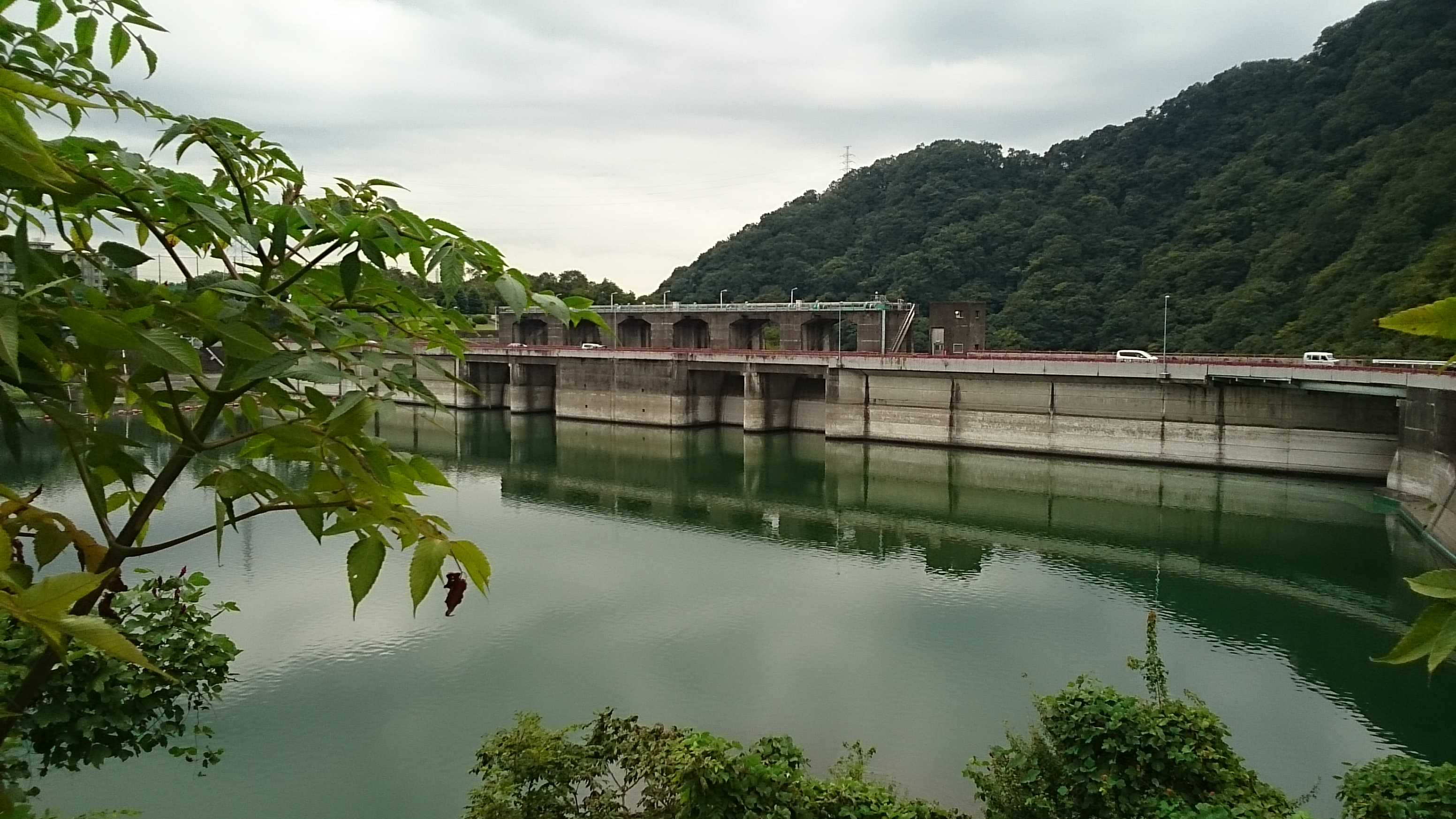20140920②津久井湖城山ダム