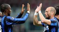 Samuel Etoo  Wesley Sneijder